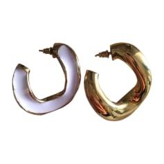 Boucles d'oreille MARNI Doré, bronze, cuivre