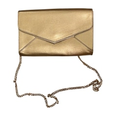 Sac pochette en cuir FURLA Doré, bronze, cuivre