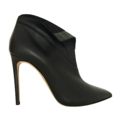 High Heel Ankle Boots CASADEI Black