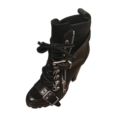 Flat Ankle Boots BARBARA BUI Black
