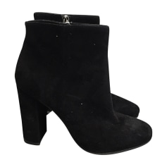 High Heel Ankle Boots GIANVITO ROSSI Black