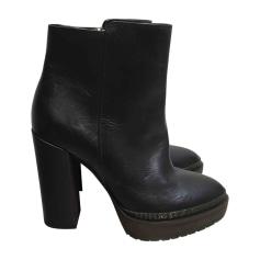 Bottines & low boots à talons BRUNELLO CUCINELLI Noir