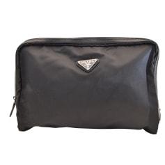 Handtasche Stoff PRADA Schwarz
