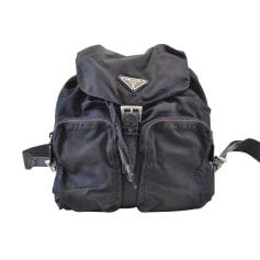 Stofftasche groß PRADA Blau, marineblau, türkisblau