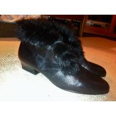 Bottines & low boots à talons VINTAGE Noir
