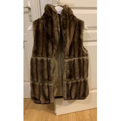 en soldes bc50e f05df Gilets sans manches en fourrure Zara Femme : Gilets sans ...