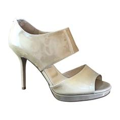 238931d70c6 Chaussures Jimmy Choo Femme Cuir verni   articles luxe - Videdressing