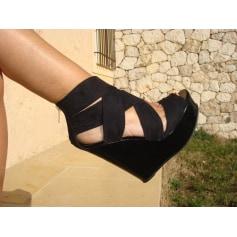 Sandales compensées Aldo  pas cher