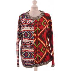 Femme Multicolore Garraga Vêtements Long Gilet Desigual Maille dCxBQoWreE