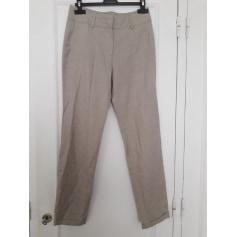 c97269c636efb Pantalons Zara Femme Lin : articles tendance - Videdressing