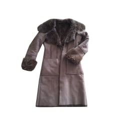 Manteaux   Vestes Femme Fausse fourrure de marque   luxe pas cher ... b47f85eab77