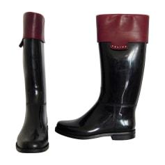 6fb6eff9b6106 Bottes de pluie Femme occasion de marque   luxe pas cher - Videdressing