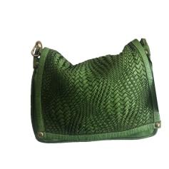 e05da7d2b6 Sacs en cuir Femme Vert de marque & luxe pas cher - Videdressing