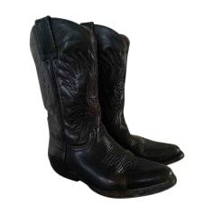 84d0b86c7d550e Santiags, bottines, low boots cowboy Mexicana Femme : articles luxe ...
