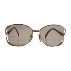 Brillen DIOR Gold, Bronze, Kupfer