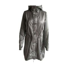 Regenjacke, Trenchcoat RALPH LAUREN Silberfarben, stahlfarben