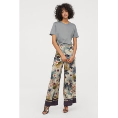 mignon pas cher qualité esthétique de luxe Pantalons très evasés, pattes d'éléphant H&M Femme ...