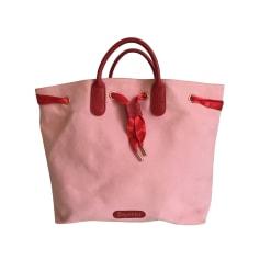 Stoffhandtasche REPETTO Pink,  altrosa
