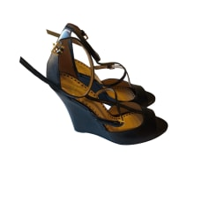 Plateau-Pumps MOSCHINO CHEAP AND CHIC Schwarz