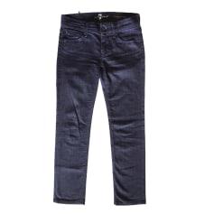Straight-Cut Jeans  7 FOR ALL MANKIND Blau, marineblau, türkisblau