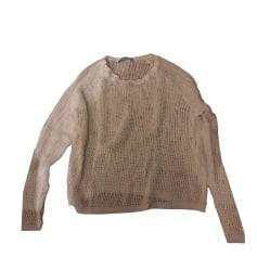 Pullover SANDRO Weiß, elfenbeinfarben