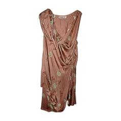 Midi-Kleid MARNI Beige