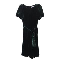 Mini-Kleid SANDRO Grün