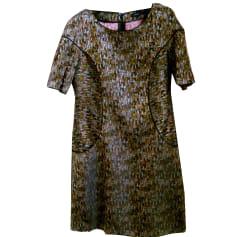 Mini-Kleid COTÉLAC Khaki