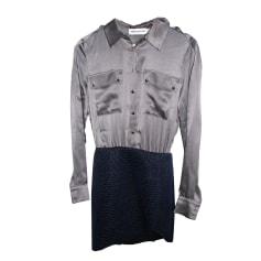 Mini-Kleid SELF PORTRAIT Grau, anthrazit