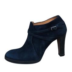 3dc008df22d Bottines   low boots Femme Bleu