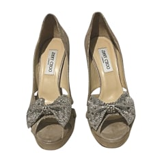 19093122aa2 Chaussures Jimmy Choo Femme A paillettes   articles luxe - Videdressing