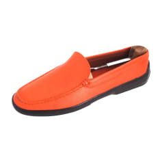 nouveau style 30c19 4ee92 Mocassins Homme Orange : Mocassins jusqu'à -80% - Videdressing