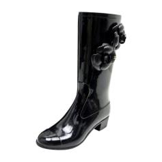 f657d3da905 Bottes de pluie Femme de marque   luxe pas cher - Videdressing
