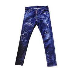 9a460429cee Jeans droit Dsquared