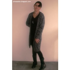 Gilet, cardigan CHEAP MONDAY Gris, anthracite