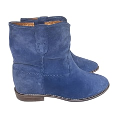 a024c1c19cf57 Bottines   low boots à talons Isabel Marant
