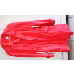 Imperméable, trench CAMAIEU Rouge, bordeaux