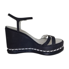 88b5f327cd2993 Chaussures Chanel Femme occasion : articles luxe - Videdressing