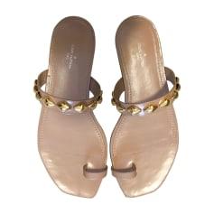 164dc0f0b4f3e9 Sandales, nu-pieds Femme de marque & luxe pas cher - Videdressing