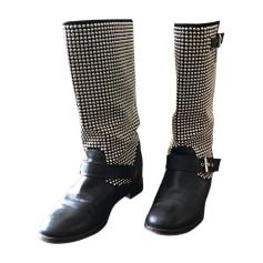 code promo 127fd dfb5c Bottes Christian Louboutin Femme : Bottes luxe jusqu'à -80 ...