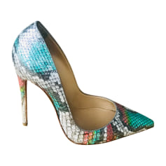 3829503078a9c4 Chaussures Femme de marque & luxe pas cher - Videdressing