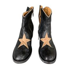 36286efb7e0ba5 Santiags, bottines, low boots cowboy Femme de marque & luxe pas cher ...