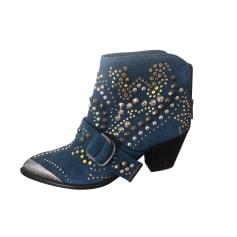 46d04baeb Bottines & low boots Zadig & Voltaire Femme : articles tendance ...
