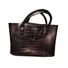 Sacs à main en cuir Longchamp Femme Doré, bronze, cuivre