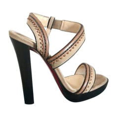 SandalesNu Pieds Christian FemmeArticles Luxe Louboutin zMpGUSqV