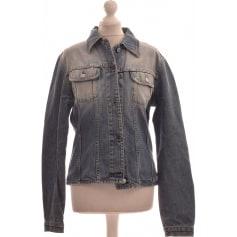 benetton femme veste jean