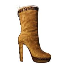 code promo 68ebc f314e Bottes Christian Louboutin Femme : Bottes luxe jusqu'à -80 ...