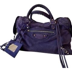 la meilleure attitude ffc0d ba4b1 Sacs en cuir Balenciaga Femme Daim : articles luxe ...