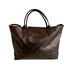 Sacs en bandoulière en tissu Longchamp Femme : Sacs en