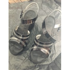 chaussures compensees ete 35,sandales compensees free lance
